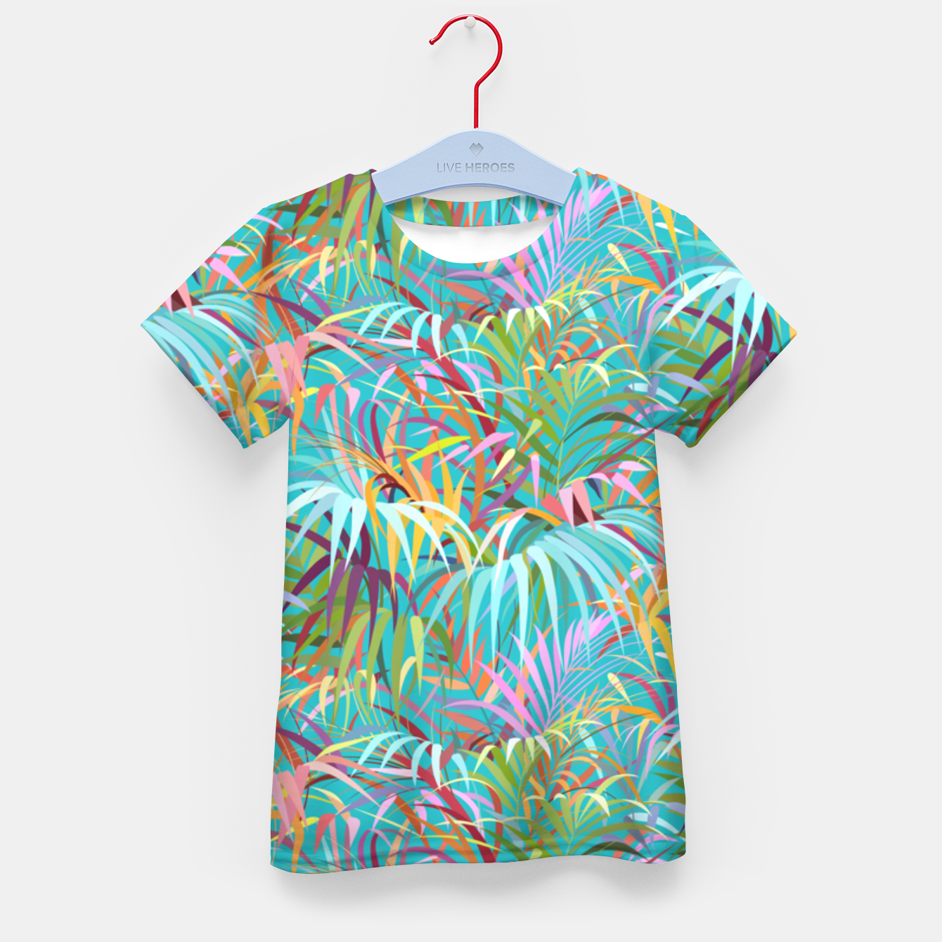 Foto Tropical mood in blue curacao  Kid's t-shirt - Live Heroes