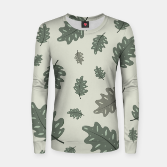Thumbnail image of Fall Leaves Women sweater, Live Heroes