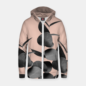 Miniaturka Eucalyptus Leaves Black Gray White Pale Terracotta #1 #foliage #decor #art  Reißverschluss kapuzenpullover, Live Heroes