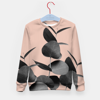 Miniaturka Eucalyptus Leaves Black Gray White Pale Terracotta #1 #foliage #decor #art  Kindersweatshirt, Live Heroes