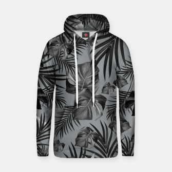 Thumbnail image of Tropical Jungle Night Leaves Pattern #6 (2020 Edition) #tropical #decor #art Kapuzenpullover, Live Heroes