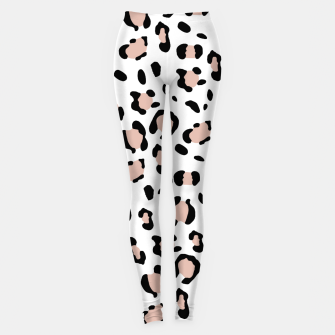 Miniatur Leopard Animal Print Glam #13 #pattern #decor #art Leggings, Live Heroes