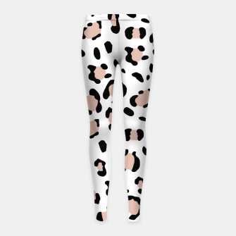 Miniatur Leopard Animal Print Glam #13 #pattern #decor #art Kinder-Leggins, Live Heroes