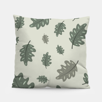 Thumbnail image of Fall Leaves Pillow, Live Heroes