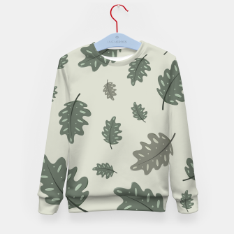 Thumbnail image of Fall Leaves Kid's sweater, Live Heroes