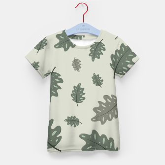 Thumbnail image of Fall Leaves Kid's t-shirt, Live Heroes