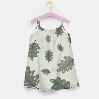 Thumbnail image of Fall Leaves Girl's dress, Live Heroes
