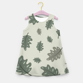 Thumbnail image of Fall Leaves Girl's summer dress, Live Heroes