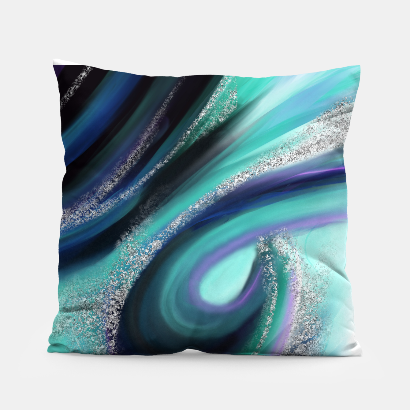 Image of Arctic Azure II Pillow - Live Heroes