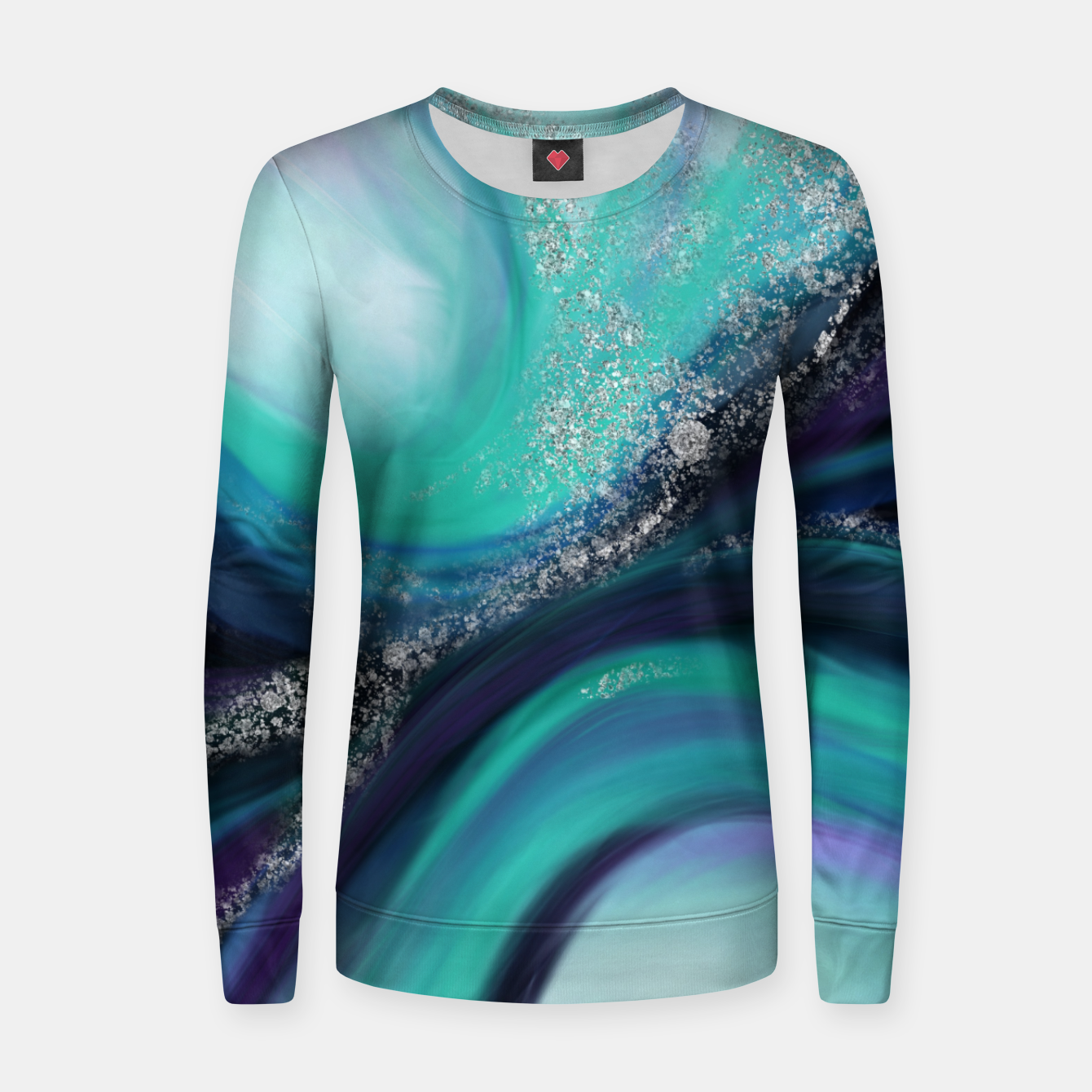 Image of Arctic Azure I Women sweater - Live Heroes