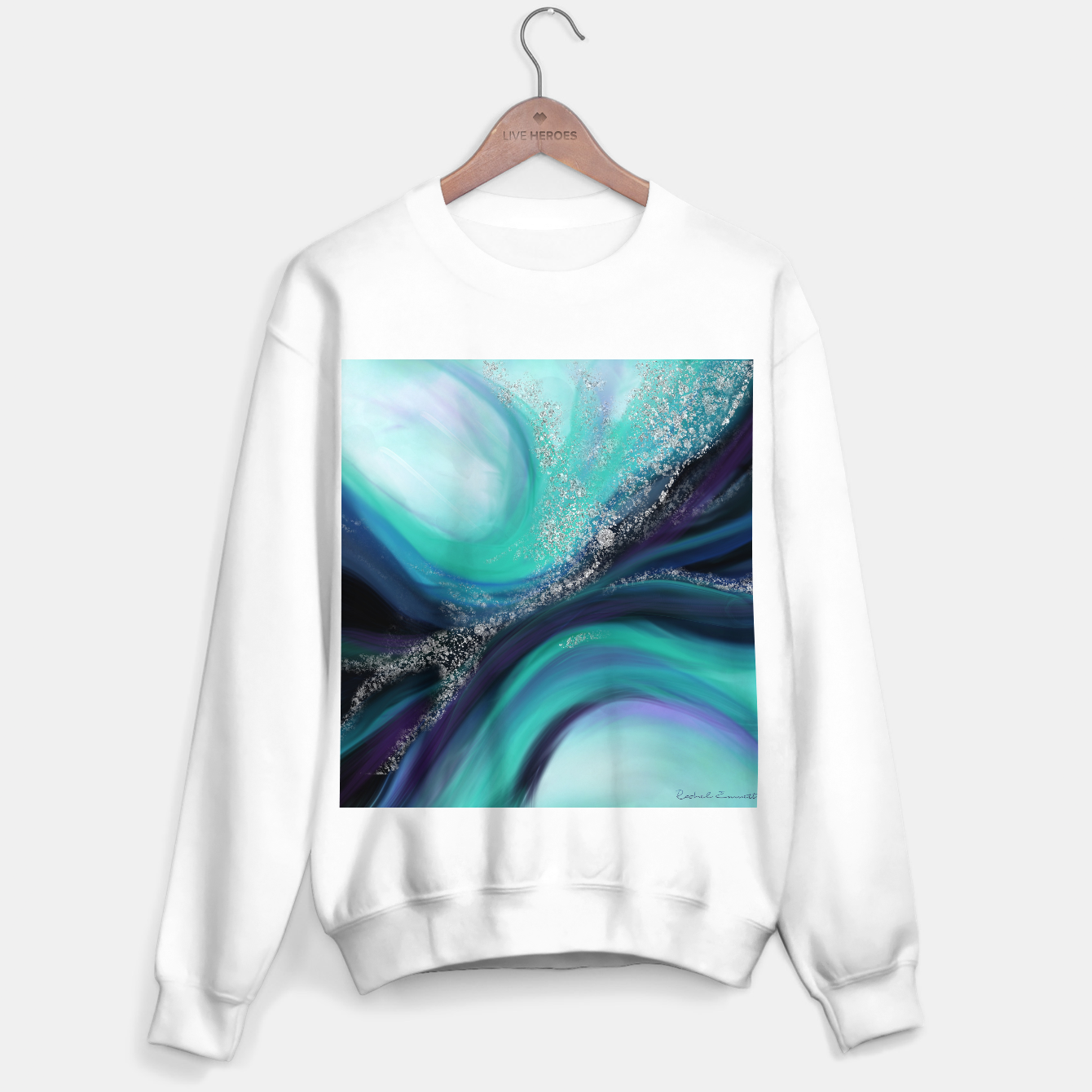 Image of Arctic Azure I Sweater regular - Live Heroes