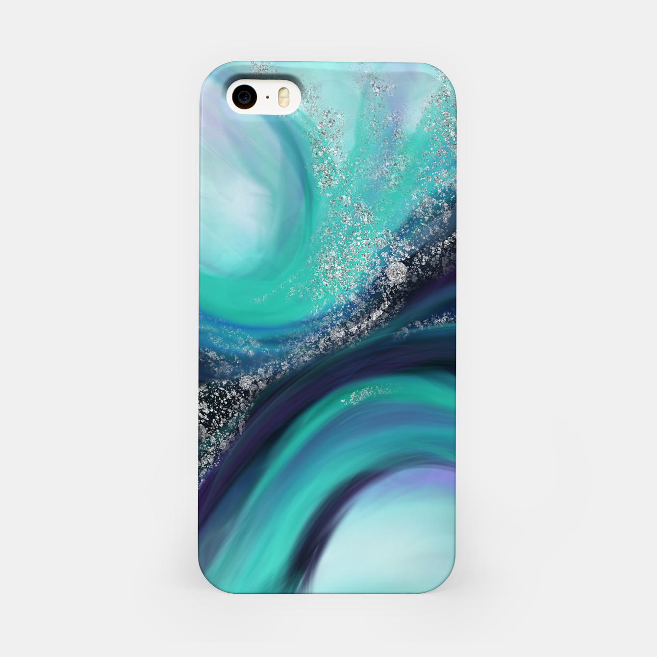 Image of Arctic Azure I iPhone Case - Live Heroes