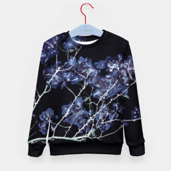 Miniatur Photo Illustration Floral Kid's sweater, Live Heroes