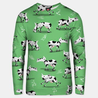 Thumbnail image of Cow Pattern Unisex sweater, Live Heroes