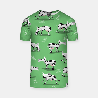 Thumbnail image of Cow Pattern T-shirt, Live Heroes