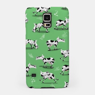 Thumbnail image of Cow Pattern Samsung Case, Live Heroes