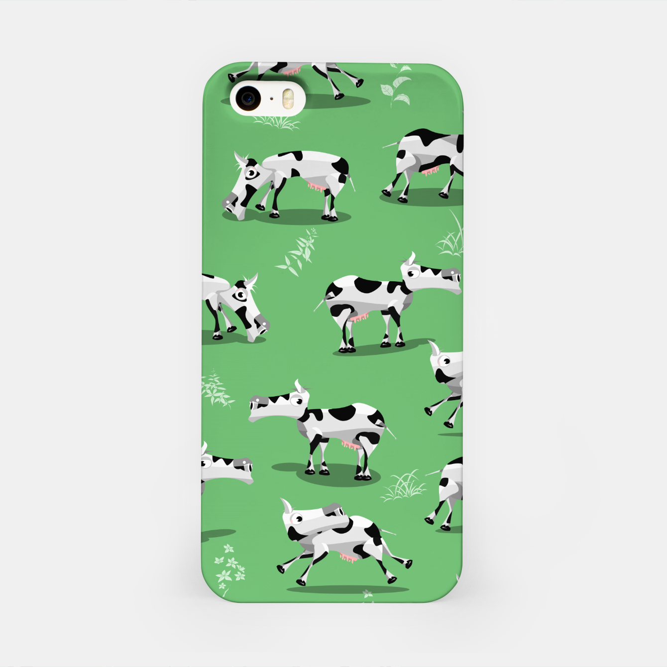 Image of Cow Pattern iPhone Case - Live Heroes