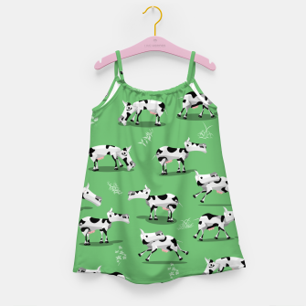 Thumbnail image of Cow Pattern Girl's dress, Live Heroes