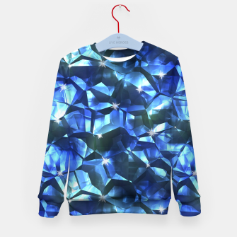 Blue Crystal Pattern Kid's sweater thumbnail image