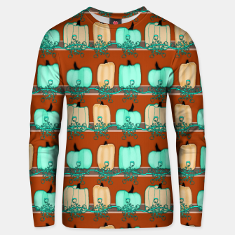 Thumbnail image of Blue Green Pumpkins Unisex sweater, Live Heroes