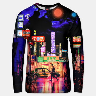 Miniaturka Neon city lights Unisex sweater, Live Heroes