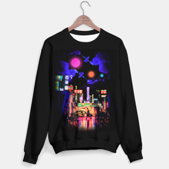 Miniaturka Neon city lights Sweater regular, Live Heroes