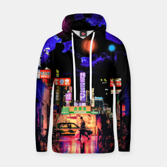 Miniature de image de Neon city lights Hoodie, Live Heroes