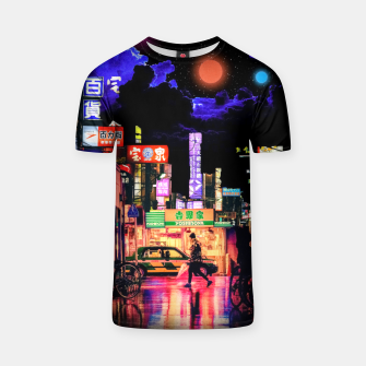 Miniaturka Neon city lights T-shirt, Live Heroes