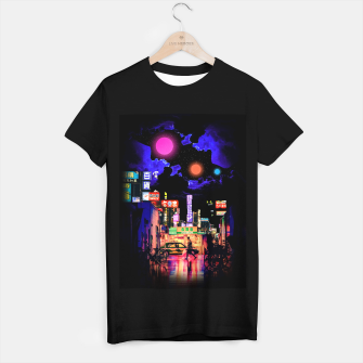 Miniaturka Neon city lights T-shirt regular, Live Heroes