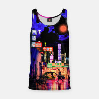 Miniaturka Neon city lights Tank Top, Live Heroes
