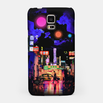 Miniaturka Neon city lights Samsung Case, Live Heroes