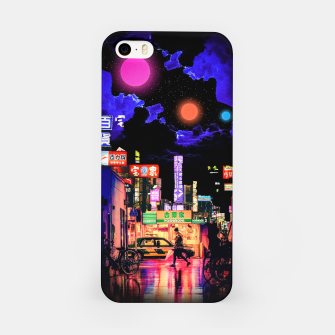 Miniaturka Neon city lights iPhone Case, Live Heroes