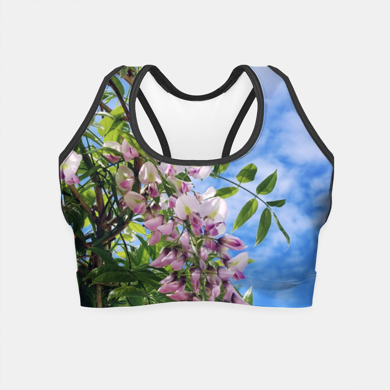 Image of wisteria / glicynia Crop Top - Live Heroes