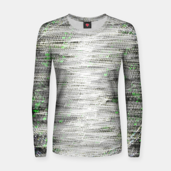 Thumbnail image of Background Music Women sweater, Live Heroes