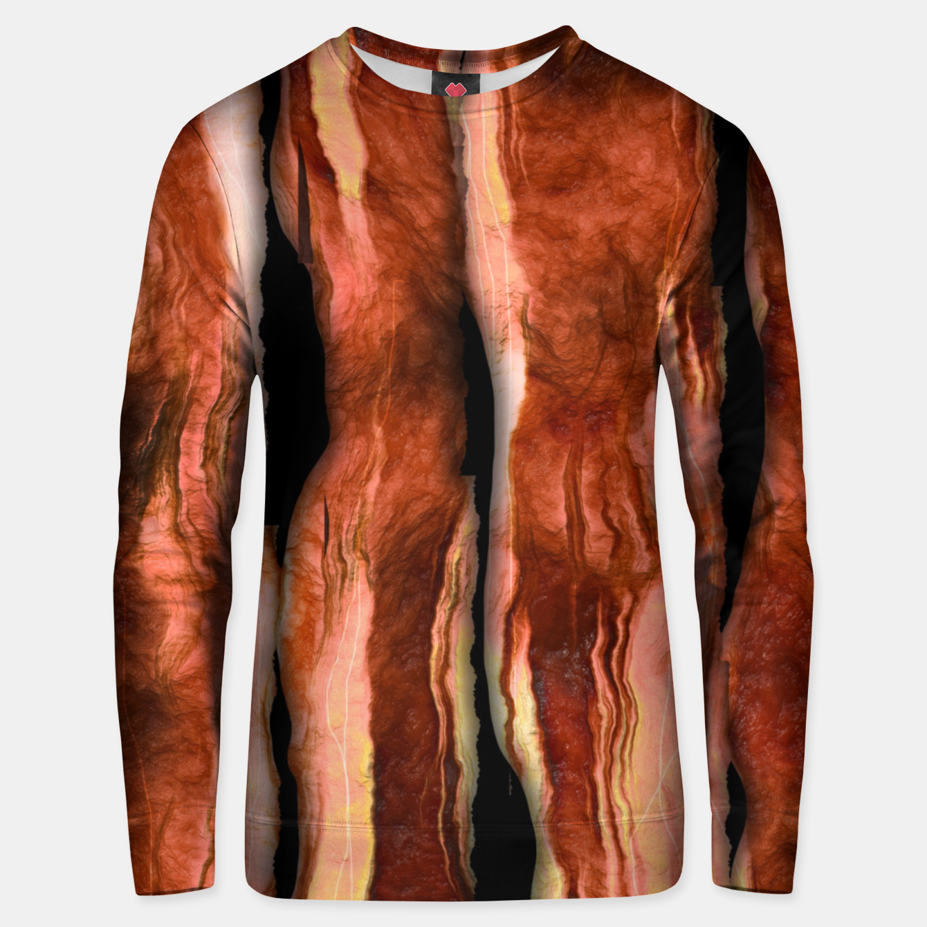 Image of Bacon Unisex sweater - Live Heroes