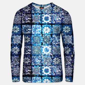 Thumbnail image of Blue Ice Crystals Unisex sweater, Live Heroes