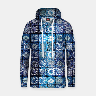 Thumbnail image of Blue Ice Crystals Hoodie, Live Heroes