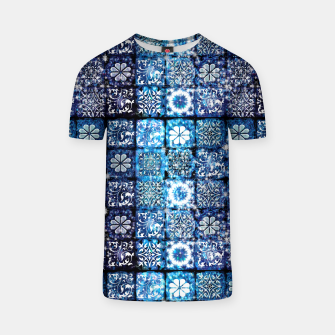 Thumbnail image of Blue Ice Crystals T-shirt, Live Heroes