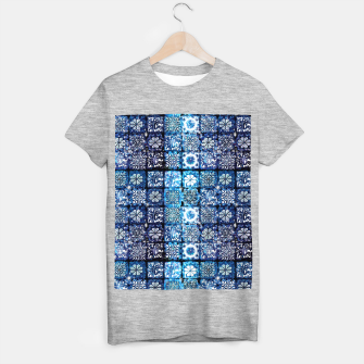 Thumbnail image of Blue Ice Crystals T-shirt regular, Live Heroes