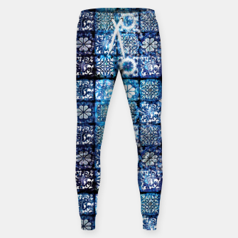 Thumbnail image of Blue Ice Crystals Sweatpants, Live Heroes