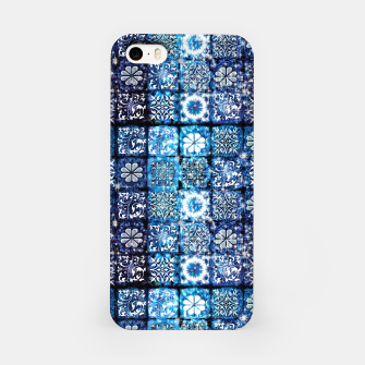Thumbnail image of Blue Ice Crystals iPhone Case, Live Heroes