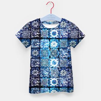 Thumbnail image of Blue Ice Crystals Kid's t-shirt, Live Heroes