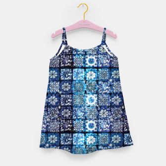 Thumbnail image of Blue Ice Crystals Girl's dress, Live Heroes