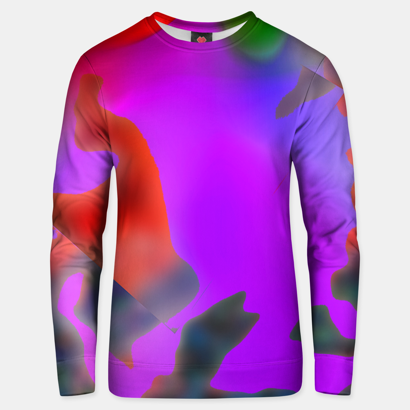 Image of coloir  Unisex sweater - Live Heroes