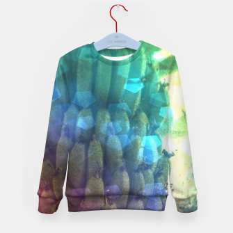 Thumbnail image of Bokeh Light Bananas Kid's sweater, Live Heroes