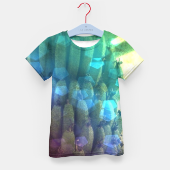 Thumbnail image of Bokeh Light Bananas Kid's t-shirt, Live Heroes