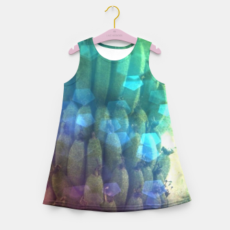 Thumbnail image of Bokeh Light Bananas Girl's summer dress, Live Heroes