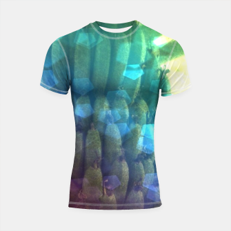 Thumbnail image of Bokeh Light Bananas Shortsleeve rashguard, Live Heroes