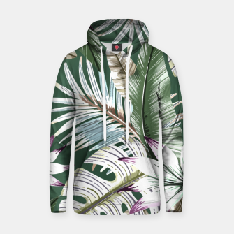 Leaves tropical summer Sudadera con capucha miniature