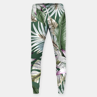 Thumbnail image of Leaves tropical summer Pantalones de chándal , Live Heroes